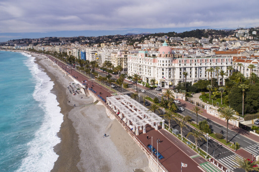 The Promenade des Anglais, à Nice