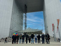 Students of the MSc Engineers for Smart Cities during their study trip in Paris