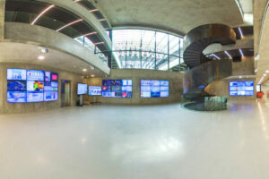 The Showroom of the Smart City Innovation Center, at IMREDD< showcases smart city solutions and projects in the French Riviera region.